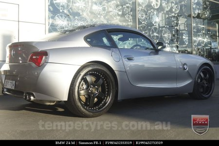 19x8.5 19x9.5 FR19-1 Satin on BMW Z4