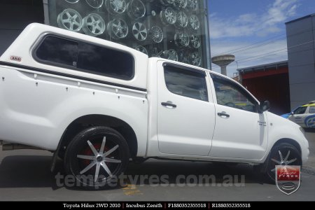 18x8.0 Incubus Zenith - MB on TOYOTA HILUX 2WD