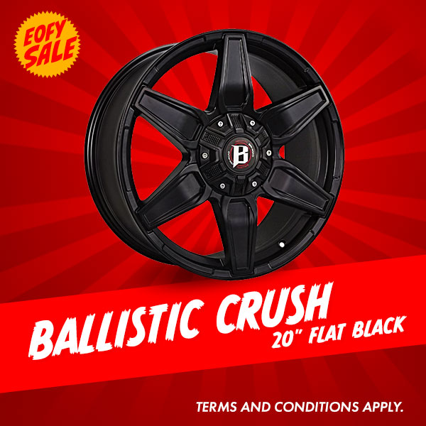 Special Offer: 20 Inch Ballistic Crush Package from $1340