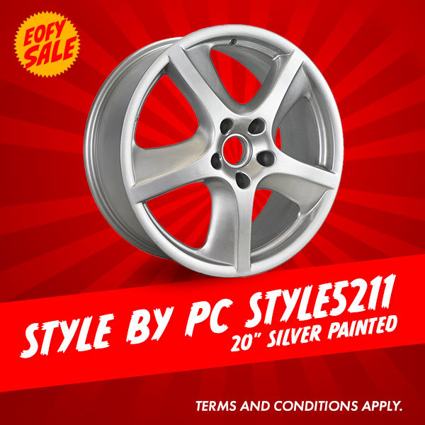 Special Offer: 20 Inch Style by PC Style5211 Package from $1676