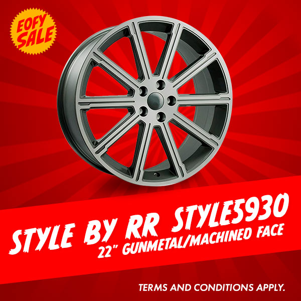 Special Offer: 22 Inch Style By RR Style5930 Package from $1516