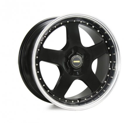 17x8.5 Simmons FR-1 Gloss Black