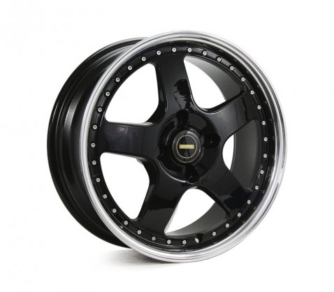 17x7.0 17x8.5 Simmons FR-1 Gloss Black