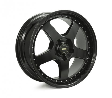 18x8.5 18x9.5 Simmons FR-1 Satin Black