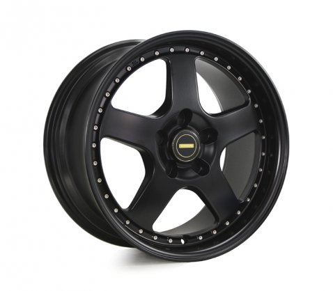 17x8.5 17x9.5 Simmons FR-1 Satin Black