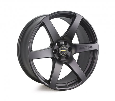 20x9.0 Simmons S6 Matte Black