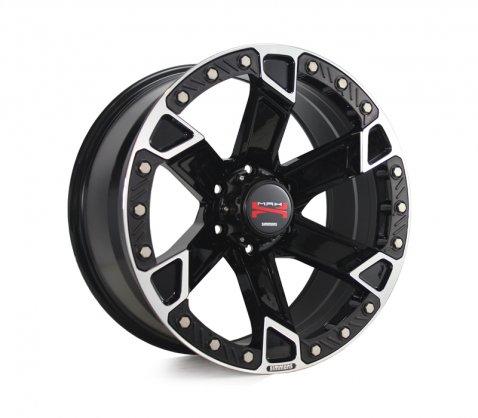 20x9.5 Simmons MAX X05 BKFY - Simmons Wheels