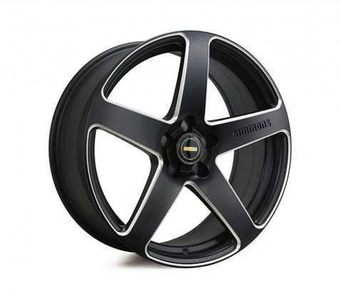 19x8.0 19x9.0 Simmons FR-CS Satin Black NCT