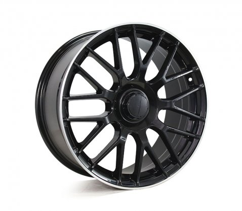 18x8.5 1261 MESH63 Black - Style By MB