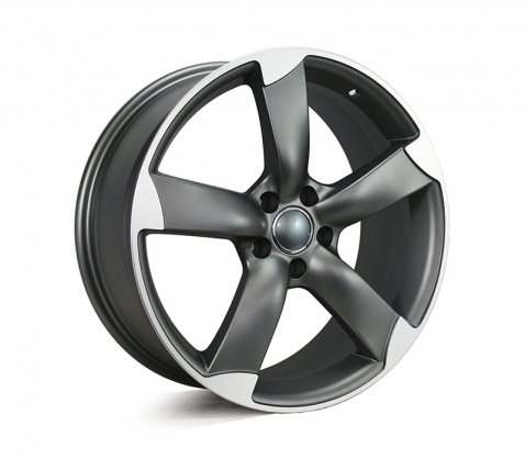 19x8.0 5328 TTRS Matt Dark Grey