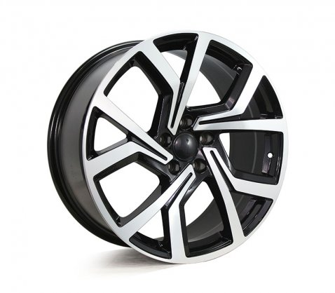 19x8.5 5573 VW5573 Black Machined