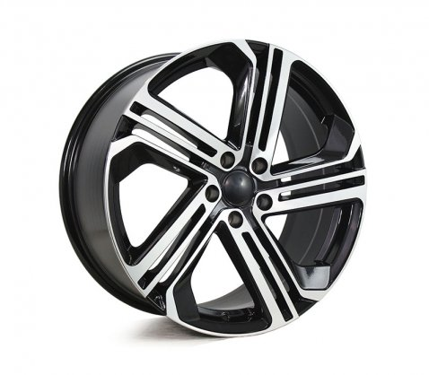 19x8.5 5586 VW5586 Black Machined