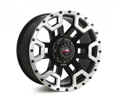 20x9.0 Simmons MAX X08 BKWDS - Simmons Wheels