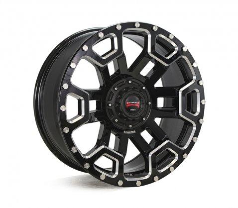 20x9.0 Simmons MAX X08 BKWS - Simmons Wheels