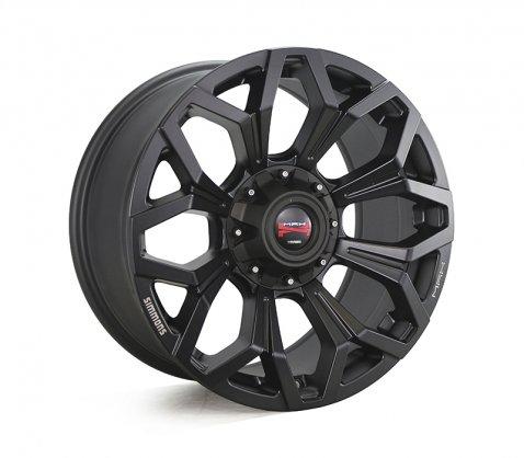 17x9.0 Simmons MAX X11 MBW - Simmons Wheels