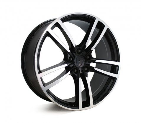22x10 5628 Black Machined
