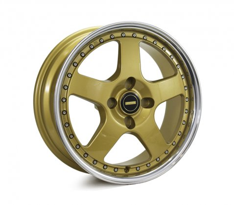 17x7.0 17x8.5 Simmons FR-1 Gold 4/110 P20 - Simmons Wheels