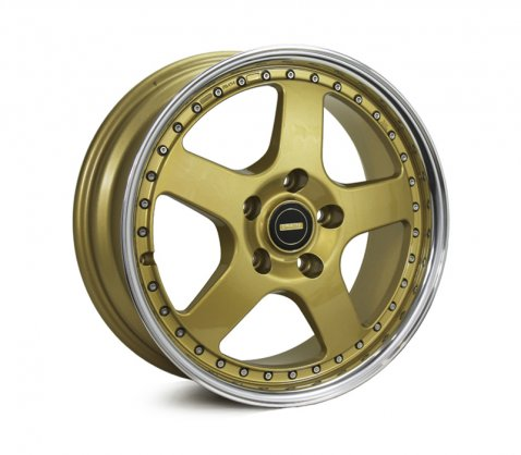 17x7.0 17x8.5 Simmons FR-1 Gold 5/108 P30 - Simmons Wheels