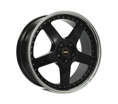 19x8.5 19x9.5 Simmons FR-1 Gloss Black