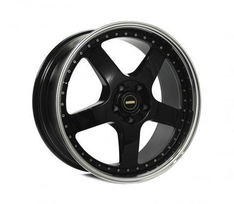 19x7.0 19x8.5 Simmons FR-1 Gloss Black - Simmons Wheels