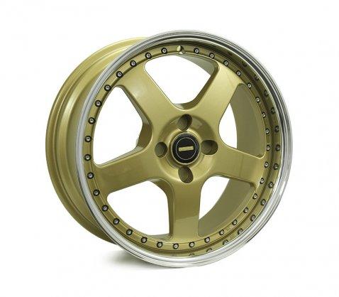18x8.5 18x9.5 Simmons FR-1 Gold - Simmons Wheels