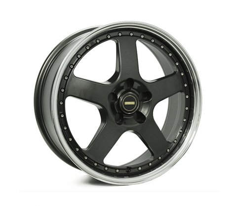 18x7.0 18x8.5 Simmons FR-1 Hyper Dark - Simmons Wheels