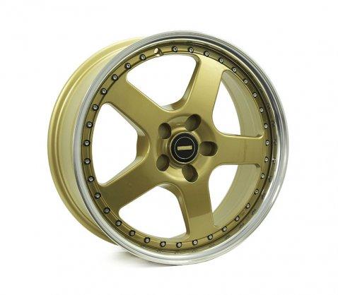 18x7.0 18x8.5 Simmons FR-1 Gold - Simmons Wheels