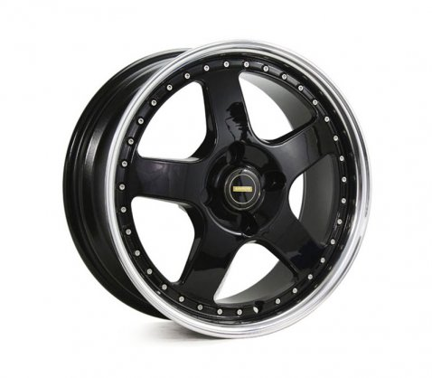 17x8.5 17x9.5 Simmons FR-1 Gloss Black