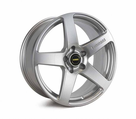 18x8.0 Simmons FR-C Silver NCT - Simmons Wheels