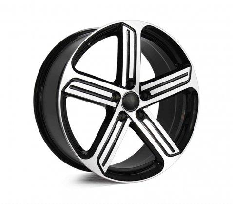 19x8.0 R Spec Black Machined 5466 - Style By VW