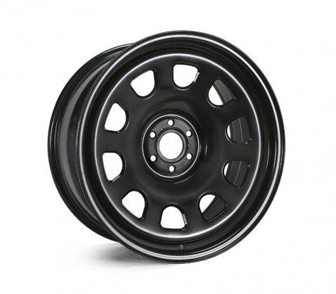 20x9.0 Gecko Black (D Holes) - Gecko Wheels