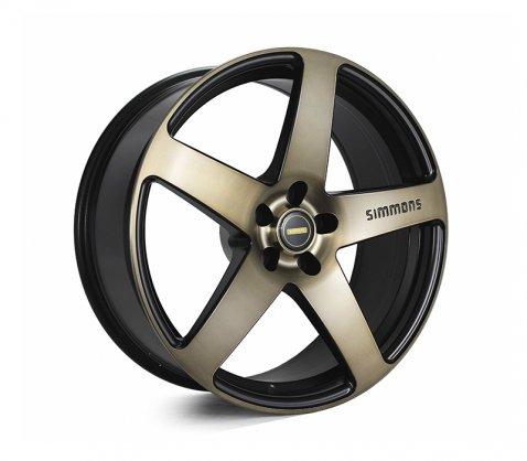 20x8.5 20x10 Simmons FR-C Copper Tint NCT - Simmons Wheels