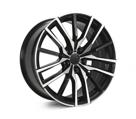 20x9.0 20x10.5 5659 Black Polished - Style By BM
