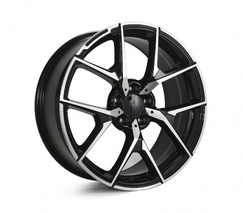 19x8.0 19x9.0 5626 MB507 Black Polished - Style By MB