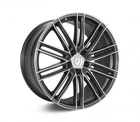 22x10 1350 Dark Grey Polished - Style By PC