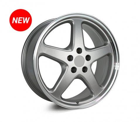 20x8.5 20x10 Walky Silver - Walky Wheels