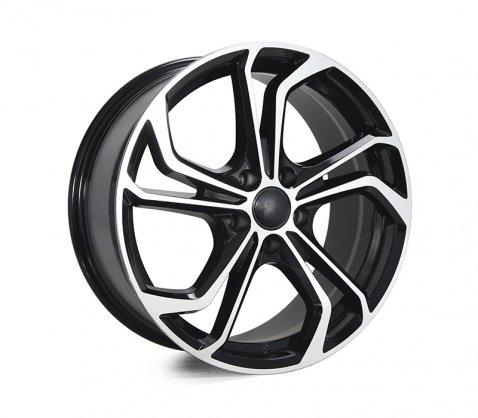 18x8.0 5665 Black Polished - Style By VW