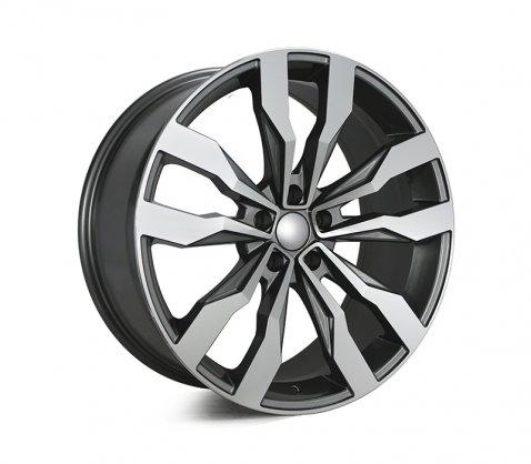 20x9.0 5615 Dark Grey - Style By VW