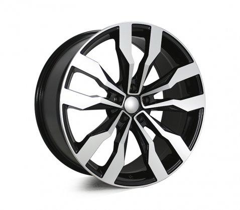 20x9.0 5615 Black Polished - Style By VW