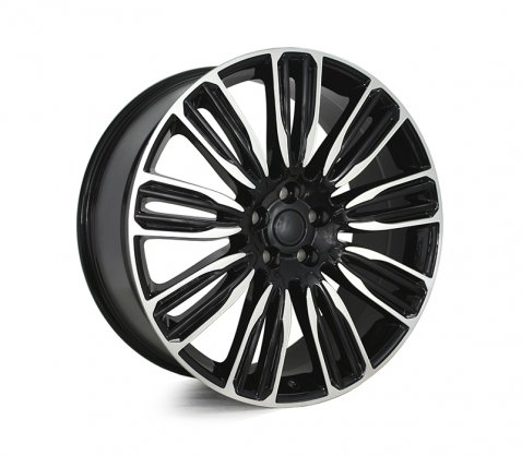 22x9.5 9034 Black Polished - Style By RR