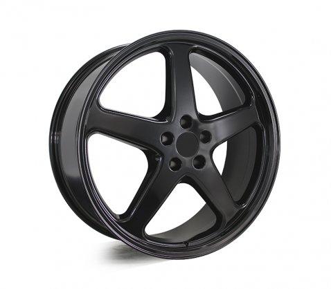 22x9.0 Walky Gloss Black - Walky Wheels