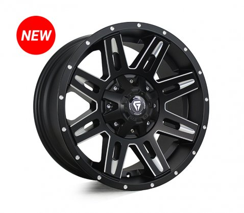 18x9.0 Grudge Offroad RAMPAGE Milling Window - Grudge Offroad Wheels