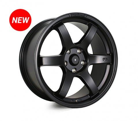 18x8.5 SC Racing LS295 Matte Black  - SC Racing Wheels
