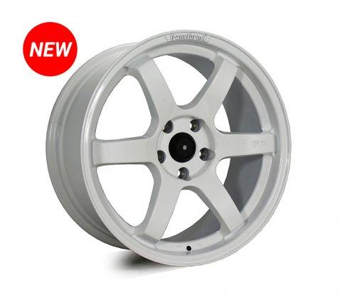 18x8.5 SC Racing LS295 White - SC Racing Wheels