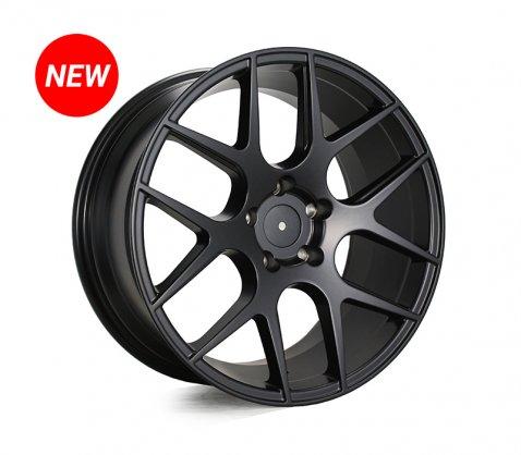 18x8.5 SC Racing LS1438 Matte Black - SC Racing Wheels