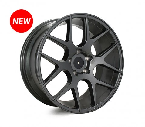 18x8.5 SC Racing LS1438 Gunmetal - SC Racing Wheels