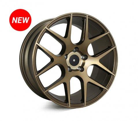 18x8.5 SC Racing LS1438 Machined Bronze - SC Racing Wheels