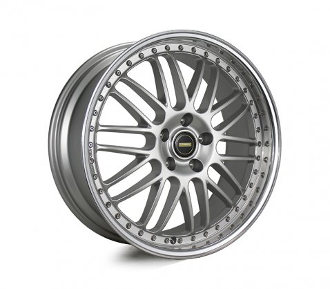 20x8.5 20x9.5 Simmons OM-1 Silver - Simmons Wheels
