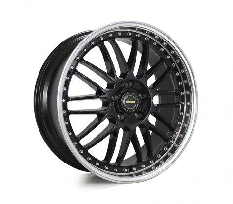 20x8.5 20x9.5 Simmons OM-1 Gloss Black - Simmons Wheels