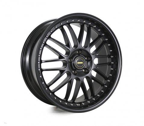 20x8.5 20x9.5 Simmons OM-1 Satin Black - Simmons Wheels